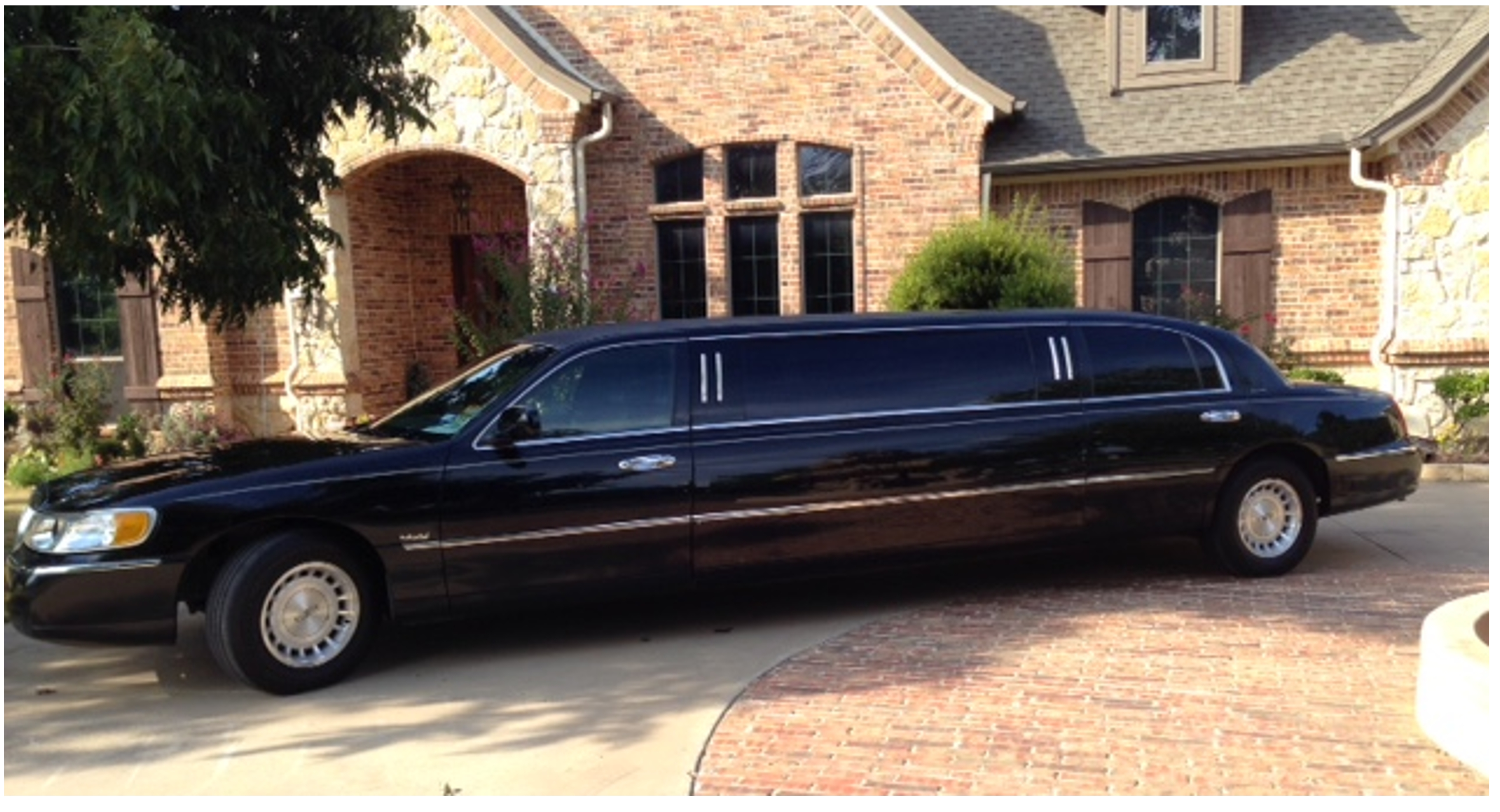 Our eight passenger stretch limo